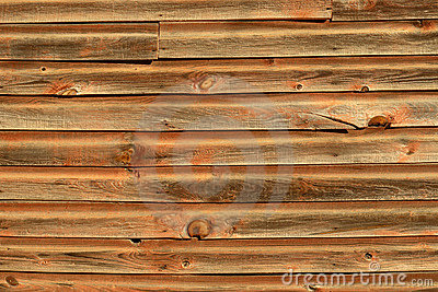 Old Wood Siding Background