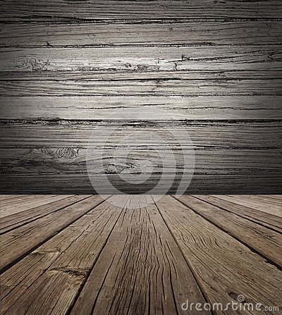 stage background with vertical natural distressed antique wooden plank ...