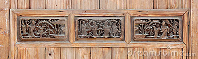 Old woodcarving