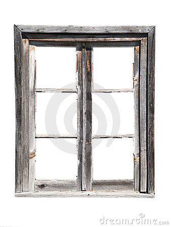Free Old Wooden Barn Window Royalty Free Stock Photography - 5754887