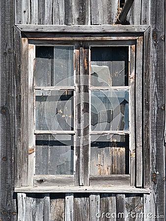Old Wooden Barn Window Stock Image Image 6166481