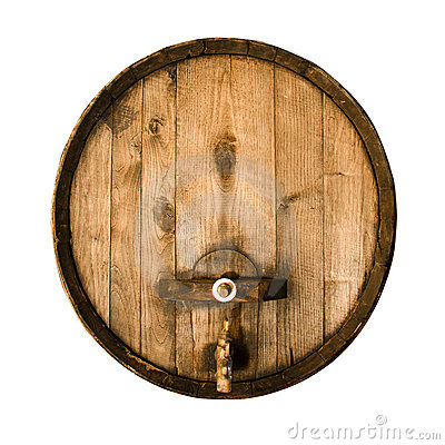 Free Old Wooden Barrel Stock Image - 21400521