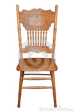 Old Wooden Chair Royalty Free Stock Photos Image 25586268