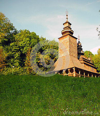 Free Old Wooden Church. Royalty Free Stock Photo - 67759275