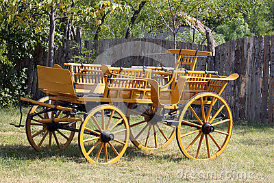 Old wooden coach