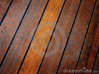 Old Wooden Deck