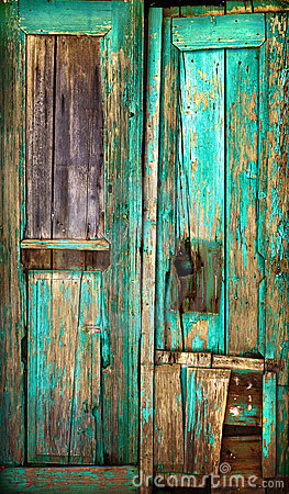 Free Old Wooden Door. Royalty Free Stock Image - 16767306