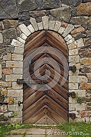 Free Old Wooden Door Stock Image - 18261501