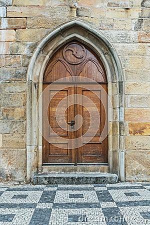 Free Old Wooden Door Stock Photography - 38519302