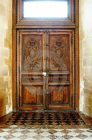 Free Old Wooden Door Stock Photos - 6125653
