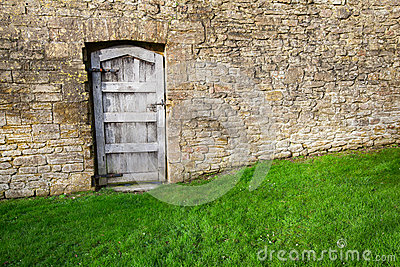 Door in Garden Wall