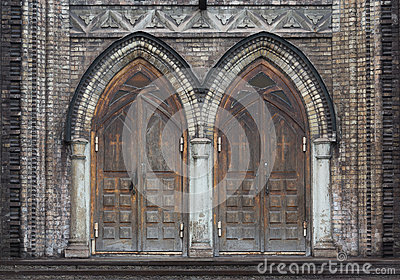 & Gothic Doors Stock Photography - Image: 8689082 Pezcame.Com