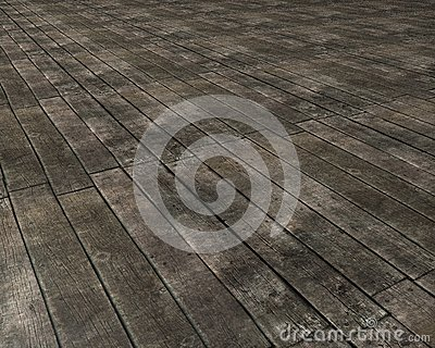 Old wooden floor
