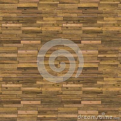 Old Wooden Floor Seamless Pattern