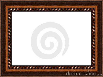 Old Wooden Frame Royalty Free Stock Photos - Image: 2902628