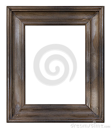 Free Old Wooden Picture Frame Stock Photo - 27200690