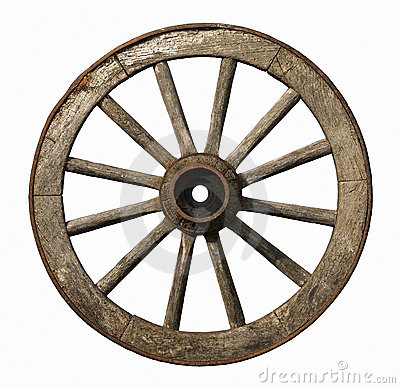 Free Old Wooden Wheel Royalty Free Stock Photos - 13165338