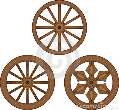 Free Old Wooden Wheels Royalty Free Stock Photography - 22485697