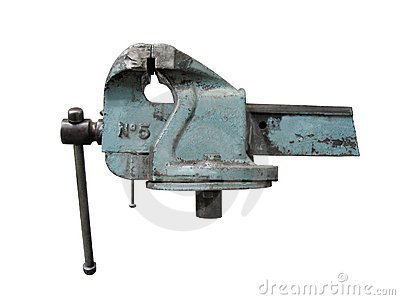 Old Work Bench Isolated Royalty Free Stock Photos - Image: 10590598