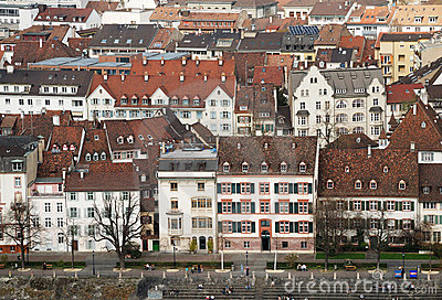 Old World City Architecture of Basel