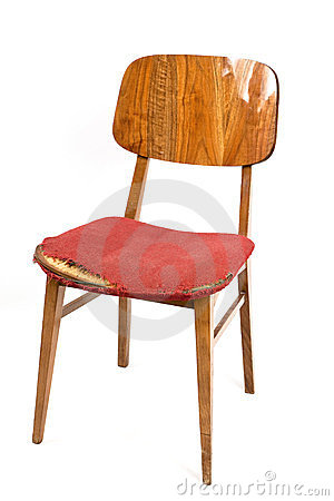 Old worn-out chair