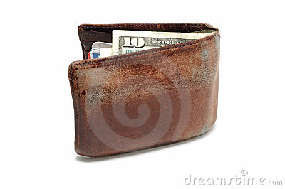 Old Worn Wallet