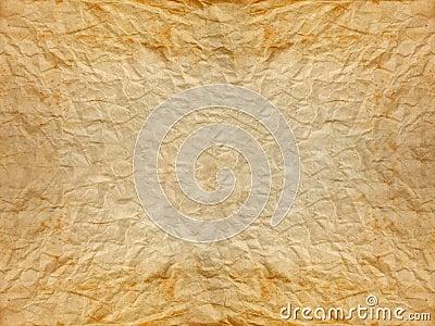 old wrinkle paper
