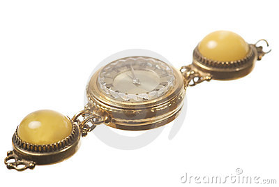Old wrist watch