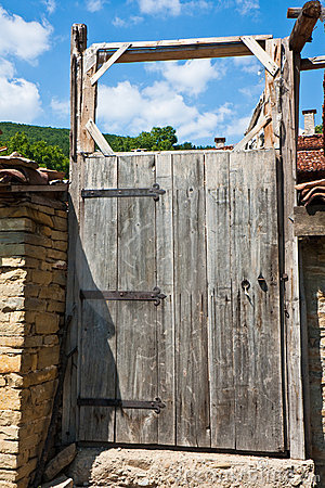 Old Yard Door