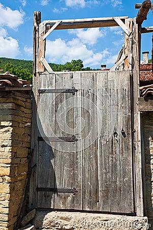 Old Yard Door