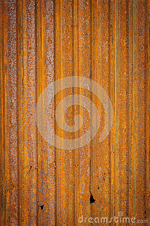 Old zinc fence background