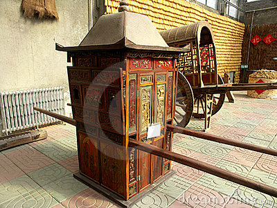 Olden Bridal Carriage