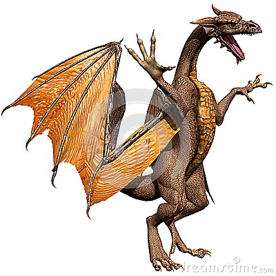 Olden dragon attacking 2