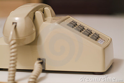 Older biege phone 07