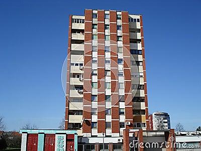 Building Cool Apartment Buildings Tall Brick Apartment Building Brick