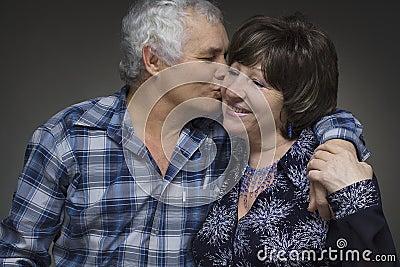 Older couple - love concept