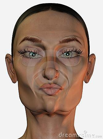 Older woman closeup