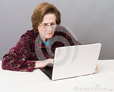Older Women Using the Computer