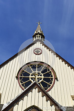 Oldest Church in Vancouver Islands Canada