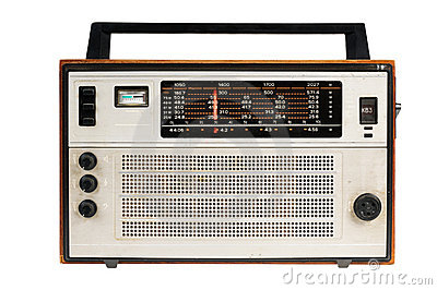 Oldfashioned Retro Radio Stock Photos - Image: 21643343