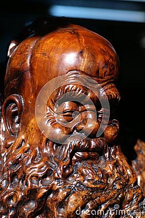 Oldmen woodcarving