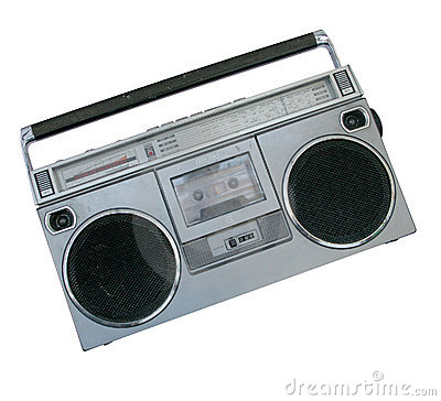 Free Oldschool Boombox Royalty Free Stock Photography - 1292737