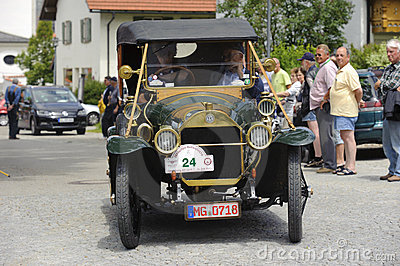 Oldtimer car Editorial Stock Photo
