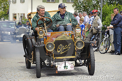 Oldtimer car Editorial Image