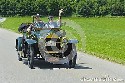 Oldtimer car Editorial Stock Image