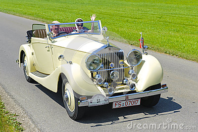Oldtimer car Editorial Stock Image