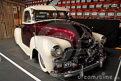 Oldtimer on car show Editorial Stock Photo