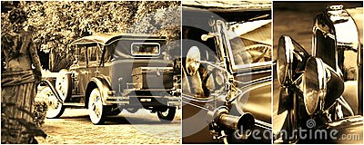 Oldtimer collage