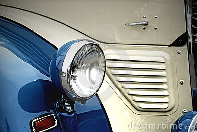Oldtimer headlight