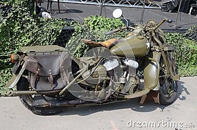 Oldtimer motocycle
